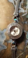Gyönyörű izraeli ezüst ékszeróra