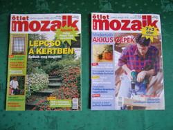 Ötlet mozaik 2004. 2. és 5. havi száma együtt