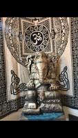 Távol keleti stílusú Ganésa (elefánt istenség)