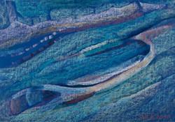 Sáli Róza: Buckák (olajpasztell-karton) 48x68 cm