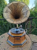 Működőképes gramofon + lemez