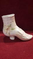 Porcelán cipő váza