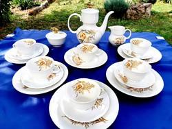 Reichenbach teáskeszlet, reggeliző készlet