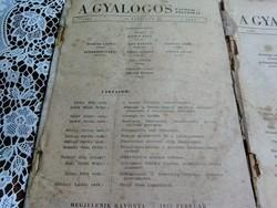 Katonai folyóiratok : A gyalogos 1950 - es kiadásúak .