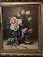 Olaj, vászon festmény ,70x90