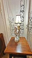 Art deco kerámia asztali lámpa.