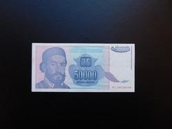 50000 dinár 1993 Jugoszlávia  02