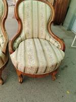 Barokk fotel pár