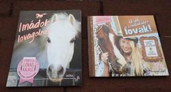 Lovas könyvek : Imádok lovagolni _ Letehetetlen lovaskalauz / Azok a csodálatos lovak