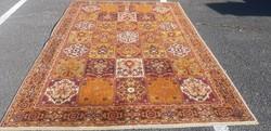 Kazetta mintás gyapjú Perzsa szőnyeg