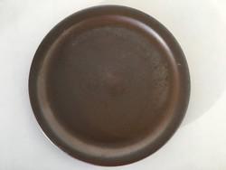Gránit barna tányér