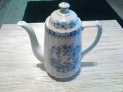 Gyönyörű Német Bavaria Chinablau porcelán tea kiöntő.