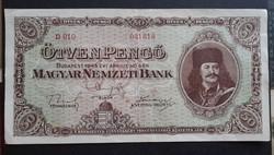 50 Pengő 1945 Vf.