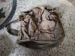 Régi katonai hátizsák