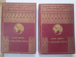 Sven Hedin A selyem útja I-II. kötet AKCIÓ