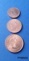 Luxemburg 1/2/5 cent (BU) EF