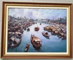 Bánfalvy Ákos-Hong Kongi kikötö-