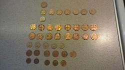 Bolgár váltópénz érmék LOT