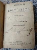 A kuruczvilág költészete Kiadja Lampel Róbert Wodianer F. és Fiai Kardos Albert bevezetőjével