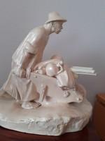 Huge statue of John the Piece in Szentgyörgy