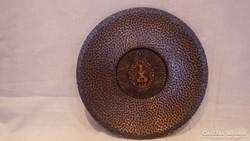 Iparművész bronz hautál Buddhával