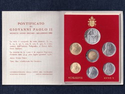 Vatikán II. János Pál Anno X forgalmi sor 1988 (id42647)