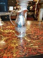 Ezüst víz vagy bor  kancsó.800 ezüst finomság. Kézzel cizellált díszek. Ritka!
