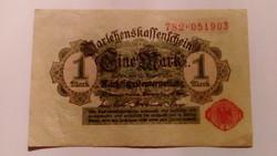 1914 NÉMET 1 márka! Szép!!!