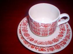 Angol 6 x 3 db-s kávés / kapucsinós /,desszertes