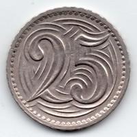 Csehszlovákia 25 csehszlovák haler, 1933
