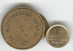 Régi réz pecsétnyomó Neményi Kereskedelmi Rt.