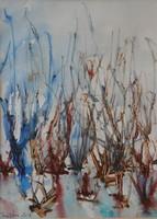 Basilides Bálint akvarellje