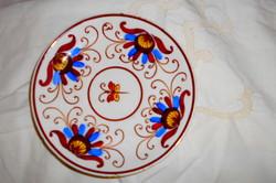 Antik  Városlődi majolika fali tányér