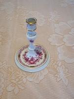 Herendi Apponyi mintás porcelán gyertyatartó