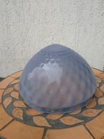 Kalcedón üveg búra gyönyörű mintás. Csillár alsó búra vagy üveg betétnek tálba stb