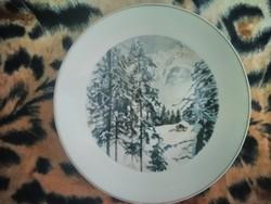 Rosenthal porcelán fali tányér