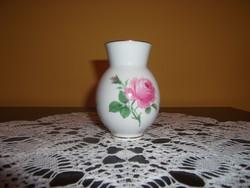 Meissen porcelán mini váza