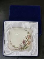 Zsolnay Tavasz mintás bonbonier Díszdobozzal 7,5 cm x 7,5 cm