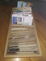 Több mint 1000 db képeslap lotban