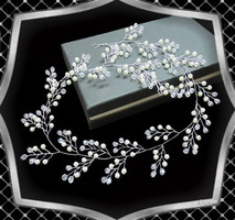 Esküvői, menyasszonyi, alkalmi hajdísz, ES-HD18-60e