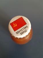 Sovyetskii soyuz feliratú bontatlan retró Valfrutta üdítő