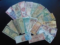 20 darab külföldi bankjegy LOT !!!