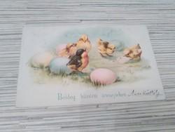 Antik Üdvözlő képeslap. (1899).