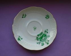 Antik 1943  Herendi Apponyi porcelán virágos csésze aljá, kistányér