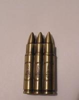 Töltény, gépfegyver lövedék alakú tölthető öngyújtó