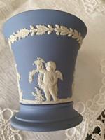 Wedgwood jelzett angol porcelán váza