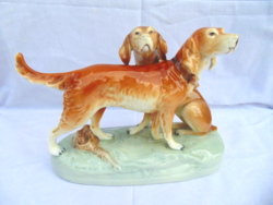 Royal Dux kutya páros
