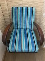 Egyedi Art Deco fotel, felújítva!