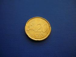BELGIUM 20 EURO CENT 2011 ! UNC! ALBERT KIRÁLY! RITKA
