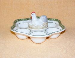 Villeroy & Boch porcelán tojástartó, kínáló